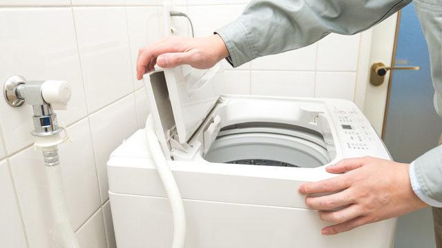 洗濯機の設置/取付